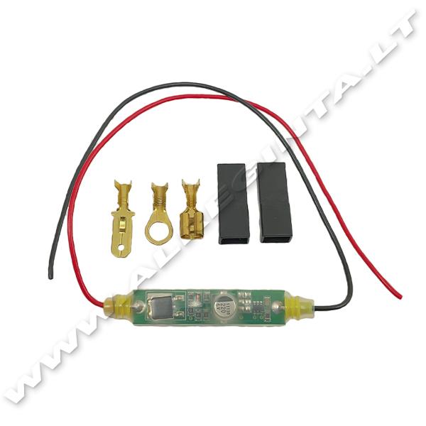 Elektromagnetinės ritės apsauga nuo perkaitimo TE-DR